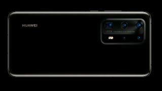 Huawei P40 Pro i sort