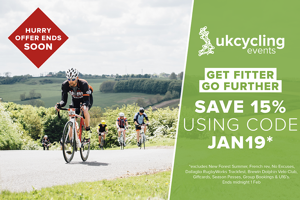 UK Cycling Events January Sale