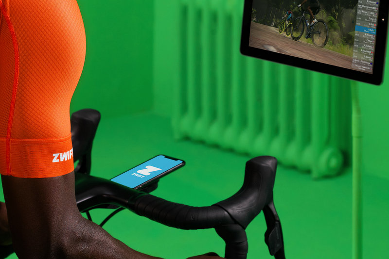 Zwift update companion app with new features including meet ups and