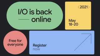 Google I/O 2021 registration site