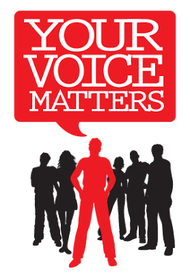 From the Principal's Office: Your Voice Matters So Use It