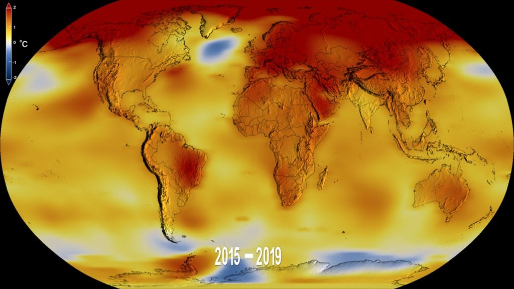 2019 Was the Second Hottest Year on Record, NASA Says