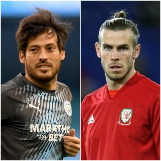 David Silva and Gareth Bale