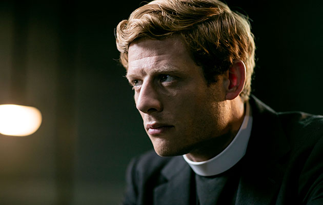 Grantchester - shows Sidney looking into the distance