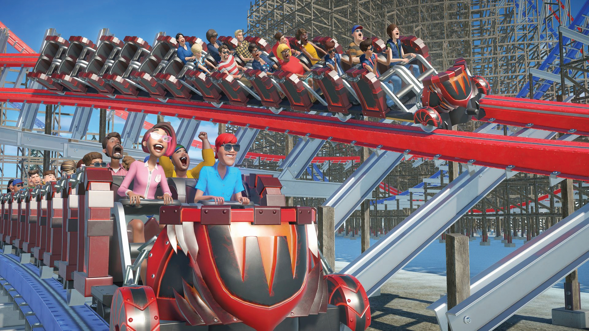 Planet Coaster's authentic simulation keeps old rides alive | PC Gamer