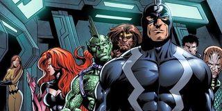 marvel comics inhumans