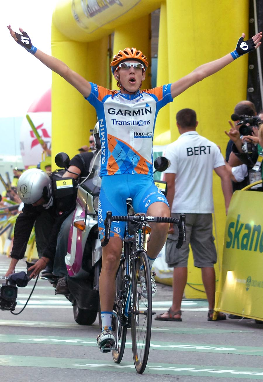 Daniel Martin wins, Tour of Poland 2010, stage 5