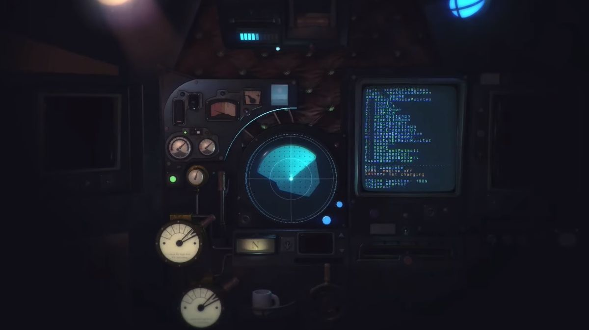 Learn how to pilot a stolen alien vehicle in Nauticrawl