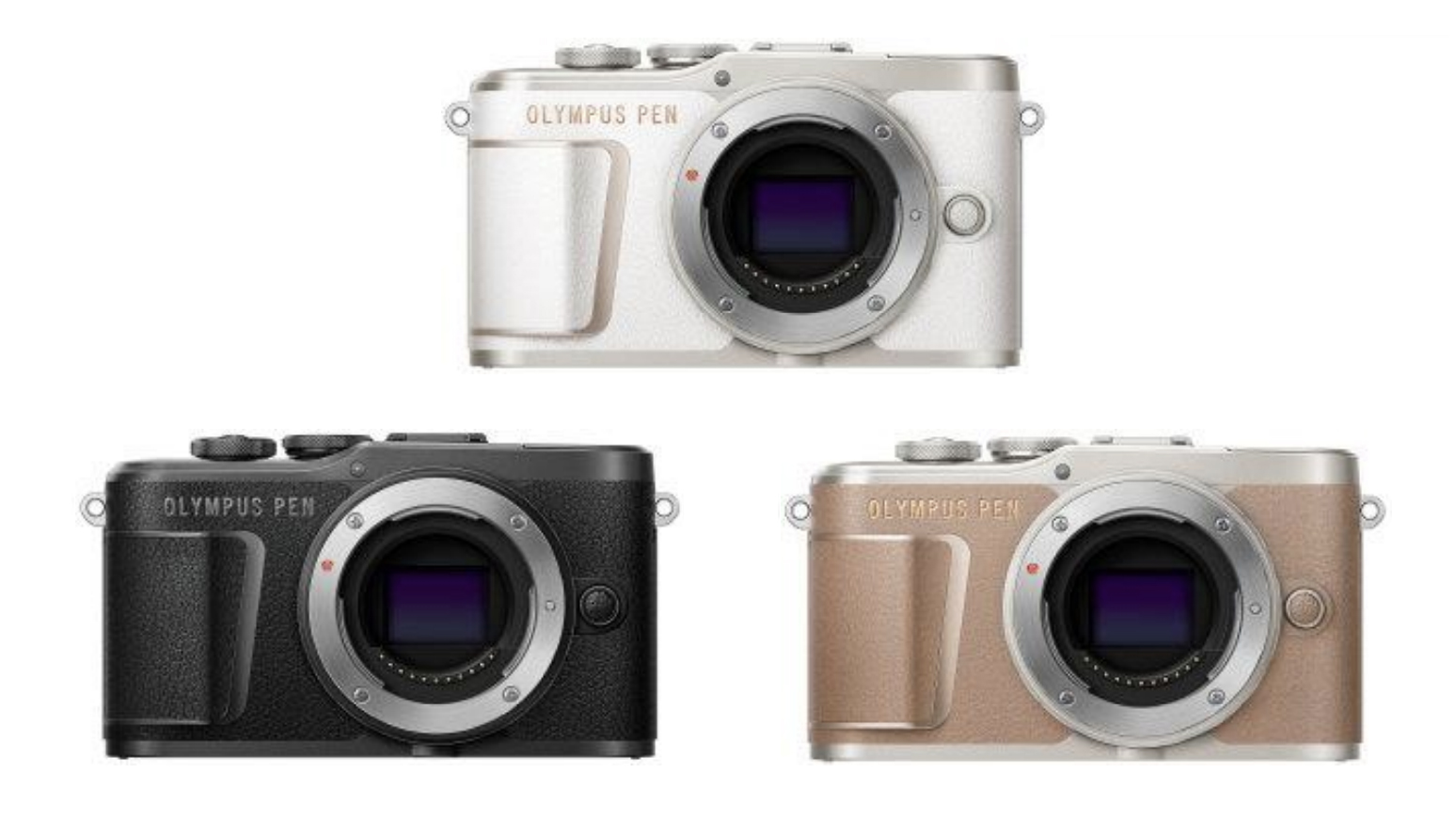 "New Olympus PEN E-PL10 is ""lighter than a 500ml bottle of water"" 