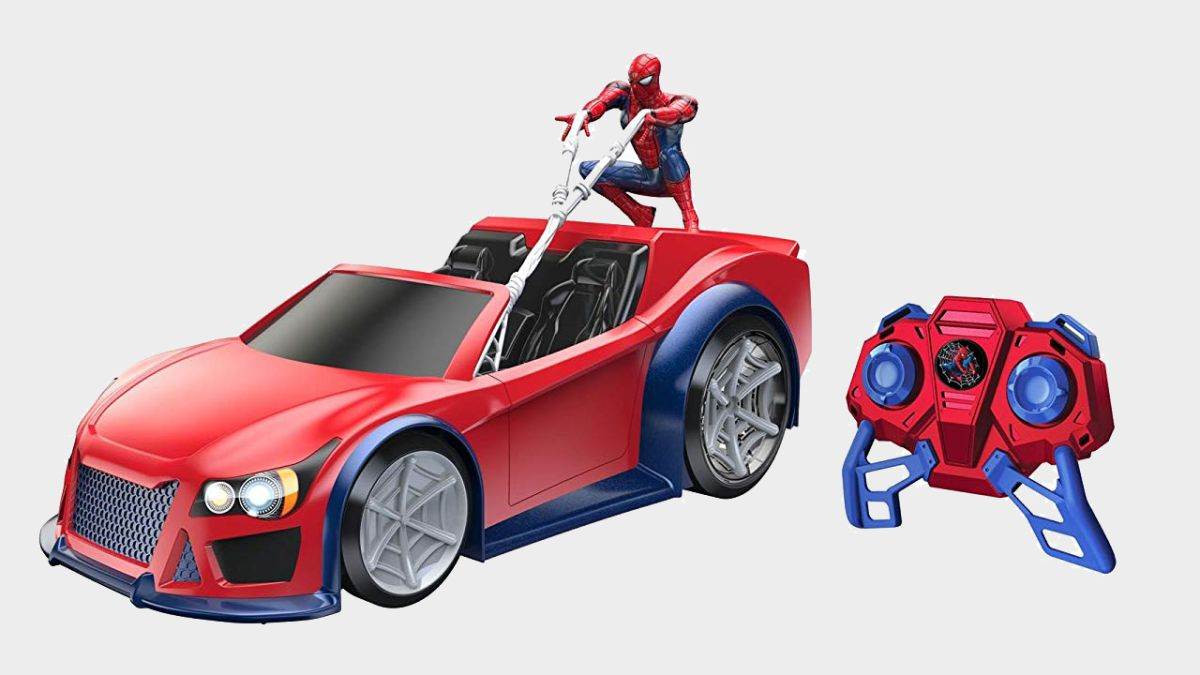 SPIDER-MAN SPIDER-MAN MINI RC CAR
