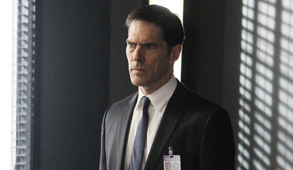 Thomas Gibson as Aaron Hotchner on Criminal Minds on CBS