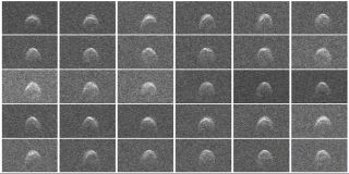 Radar Images of Asteroid 2005 WK4