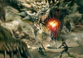 A movie poster for Monster Hunter.