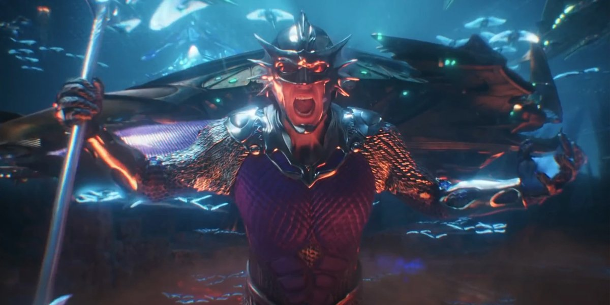 Ocean Master (Patrick Wilson) in Aquaman
