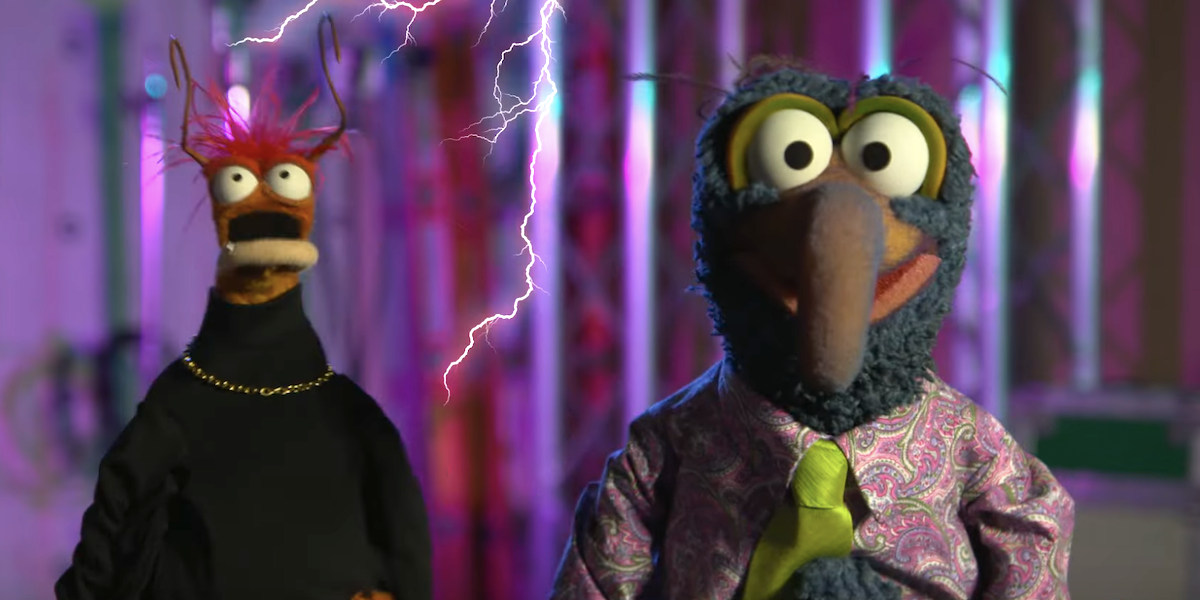 the muppets haunted mansion disney+ gonzo Pepe the King Prawn