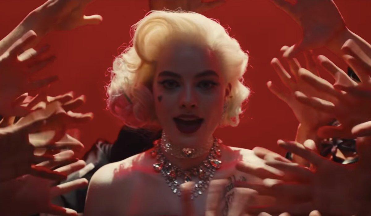Birds Of Prey Harley Quinn indulges in a Marilyn Monroe fantasy