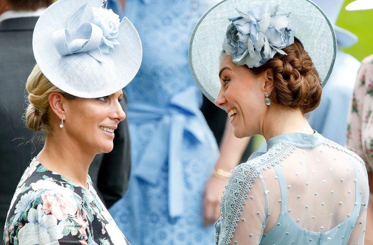 zara tindall channels kate middleton royal ascot lockdown outfit