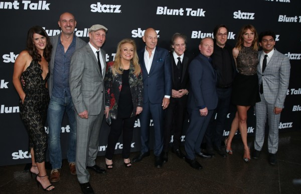 The cast of Blunt Talk