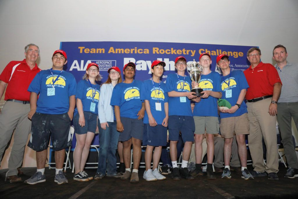 Wisconsin High School Again Lands the Top Prize in National Rocketry Competition