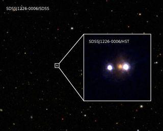 gravitational lens SDSSJ1226-0006