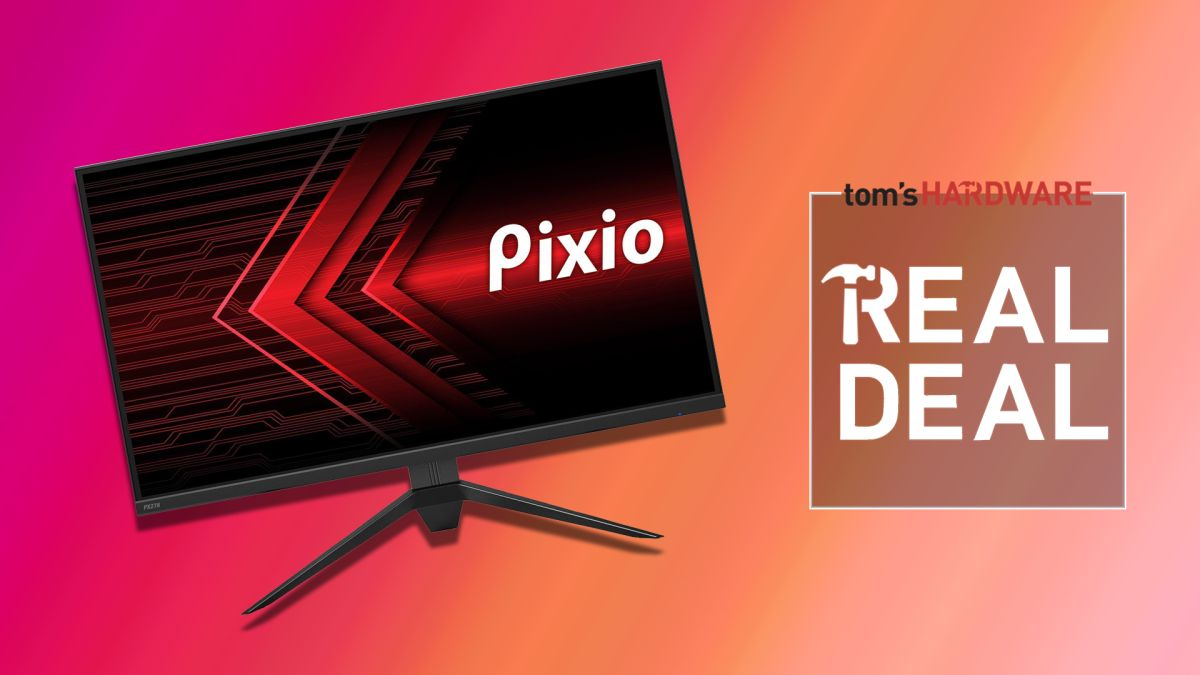 Grab this Pixio QHD 144Hz gaming Monitor for Under 0