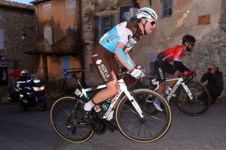 AG2R La Mondiale's Pierre Latour climbs on stage 6 of the 2020 Paris-Nice
