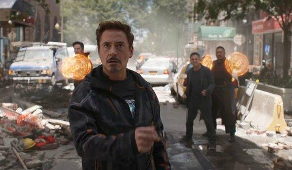 The Avengers Infinity War tony stark Doctor Strange bruce banner wog