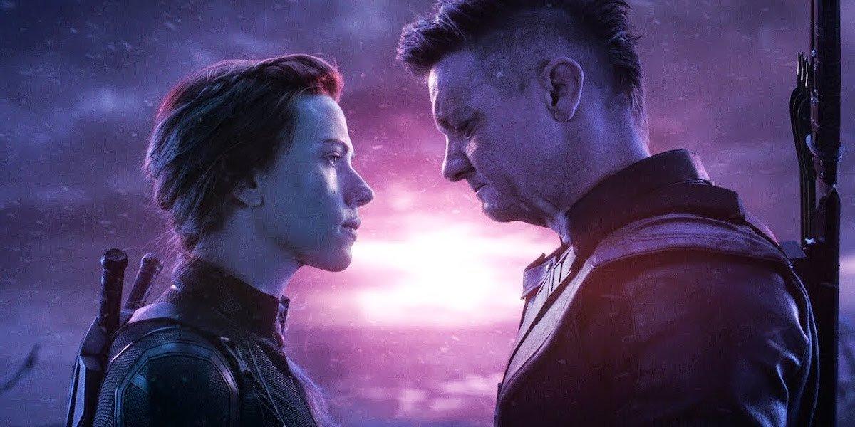 Clint and Natasha in Avengers: Endgame.