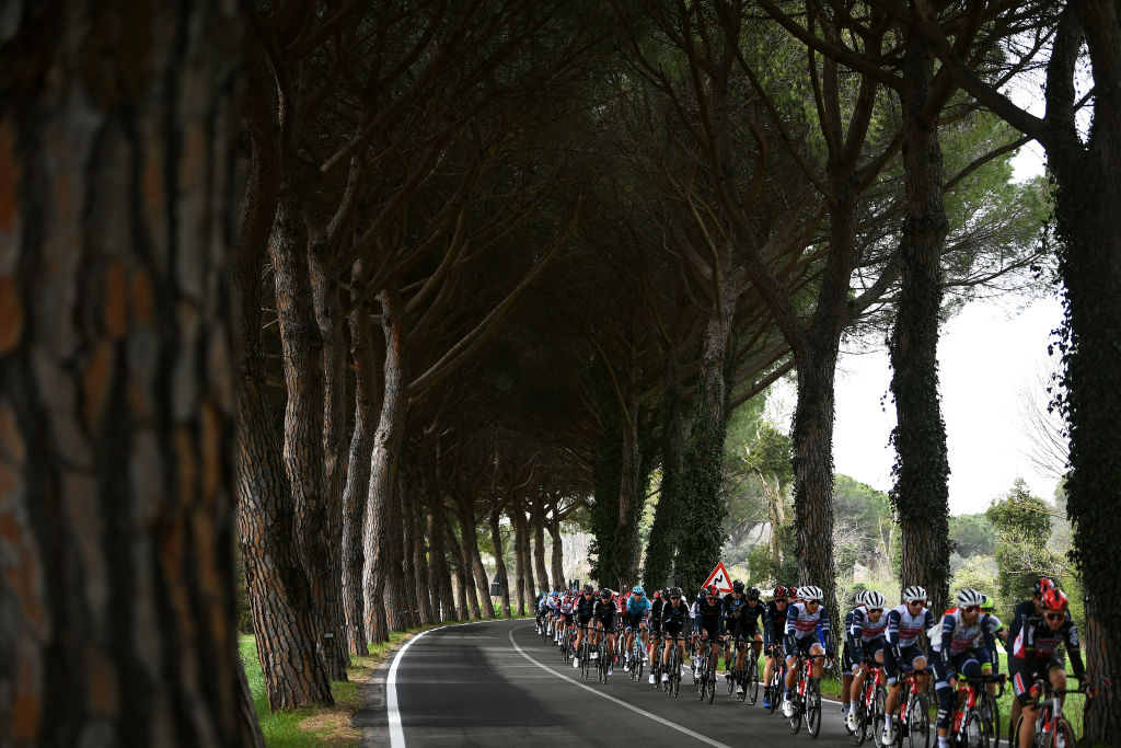The views of Tirreno-Adriatico