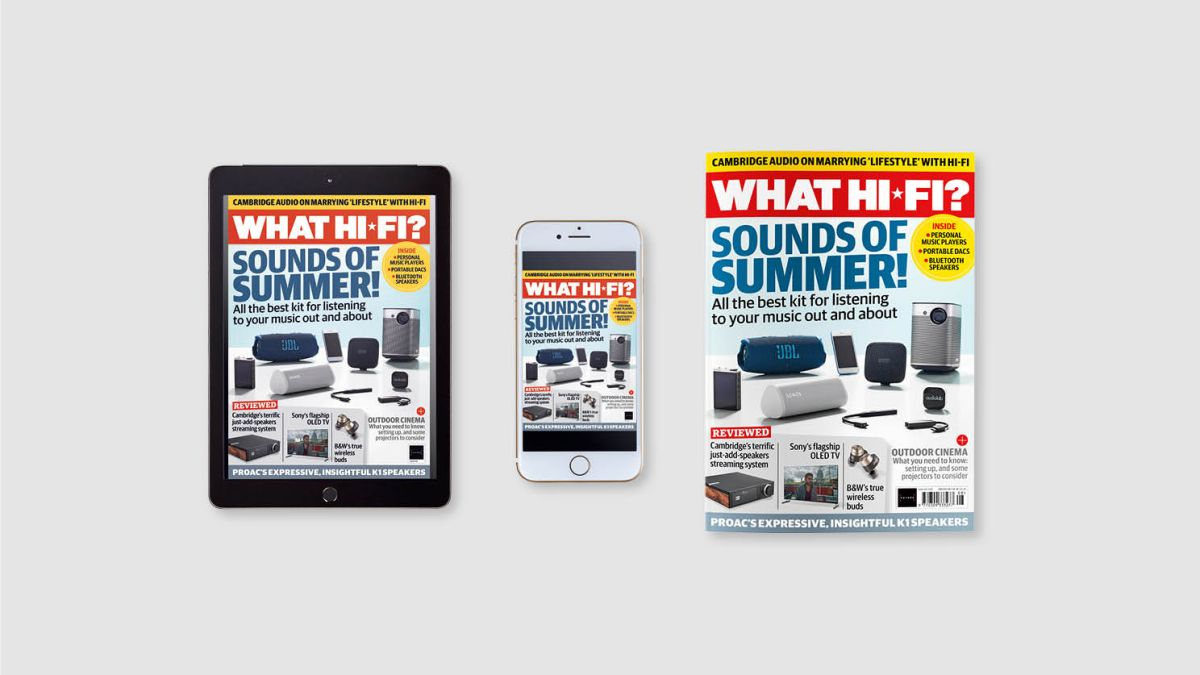 New issue of What Hi-Fi? out now: a portable hi-fi kit special