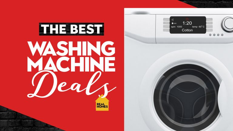 washing machine deals with Real Homes