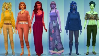 Sims 4 Berry sims lineup