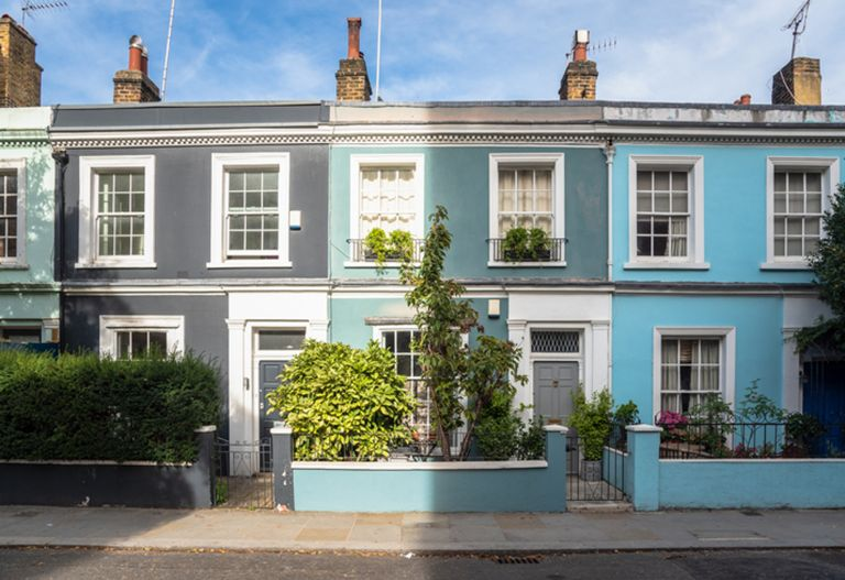 UK property: colourful homes