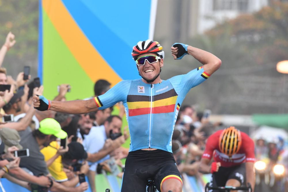 Greg Van Avermaet wins Rio 2016 Olympic men s road race - Cycling Weekly ef7dcb732
