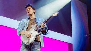 John Mayer performs onstage at The O2 Arena on October 13, 2019 in London, England