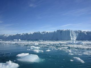 Store Glacier in west Greenland.