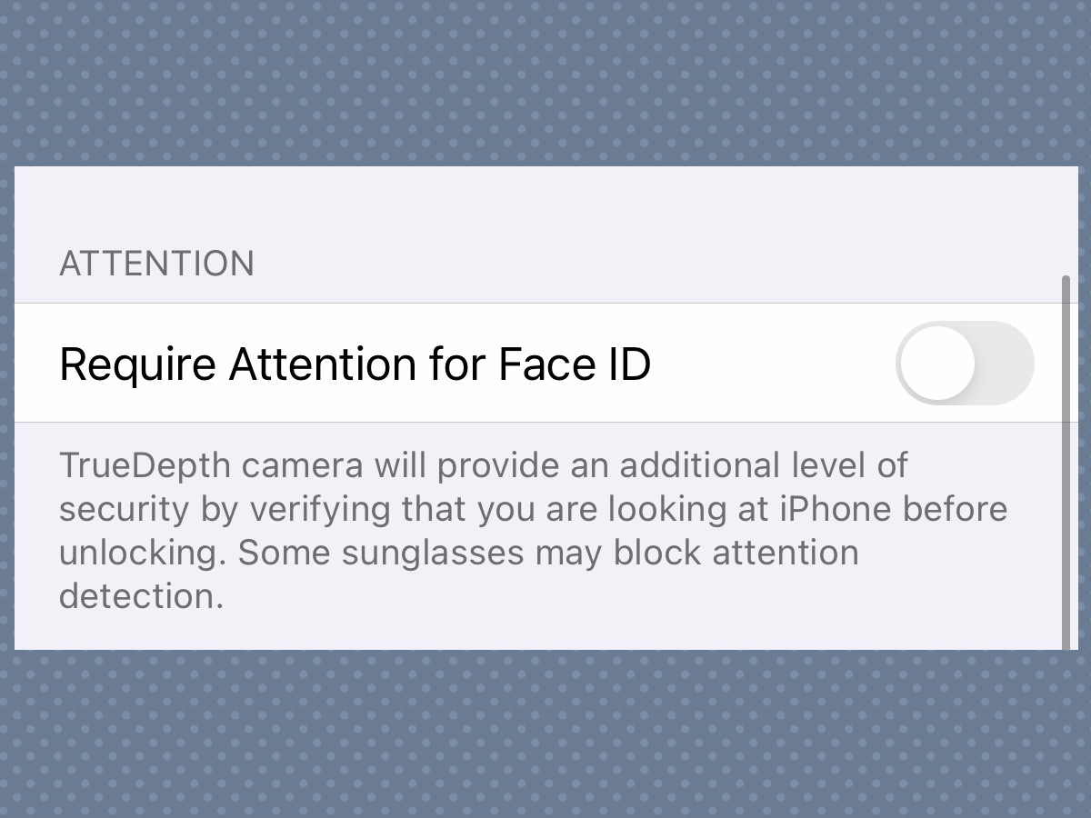 iPhone 12 feature can enable face recognition