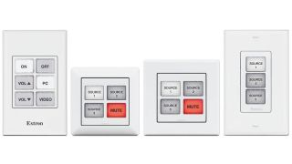 Extron Introduces Four eBUS Button Panels With Field-Labelable Buttons