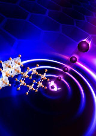 quantum spin liquid image