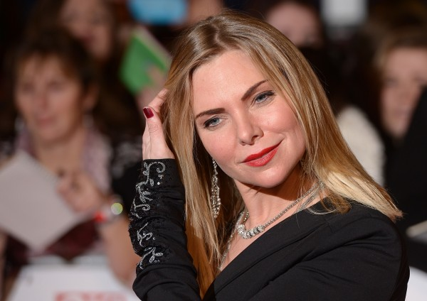 Samantha Womack arriving for the 2014 National Television Awards at the O2 Arena, London.