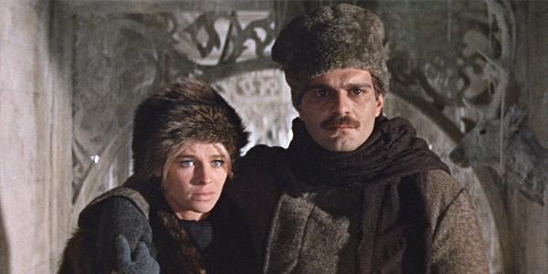 Dr. Zhivago still in winter clothes, fur