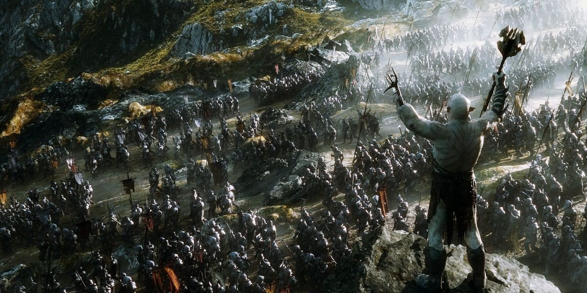 Getting Ready for war in The Battle of the Five Armies