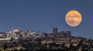 Full Moon Over Monsaraz