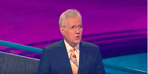 Watch Alex Trebek Take A Shot At A Jeopardy Contestant Right