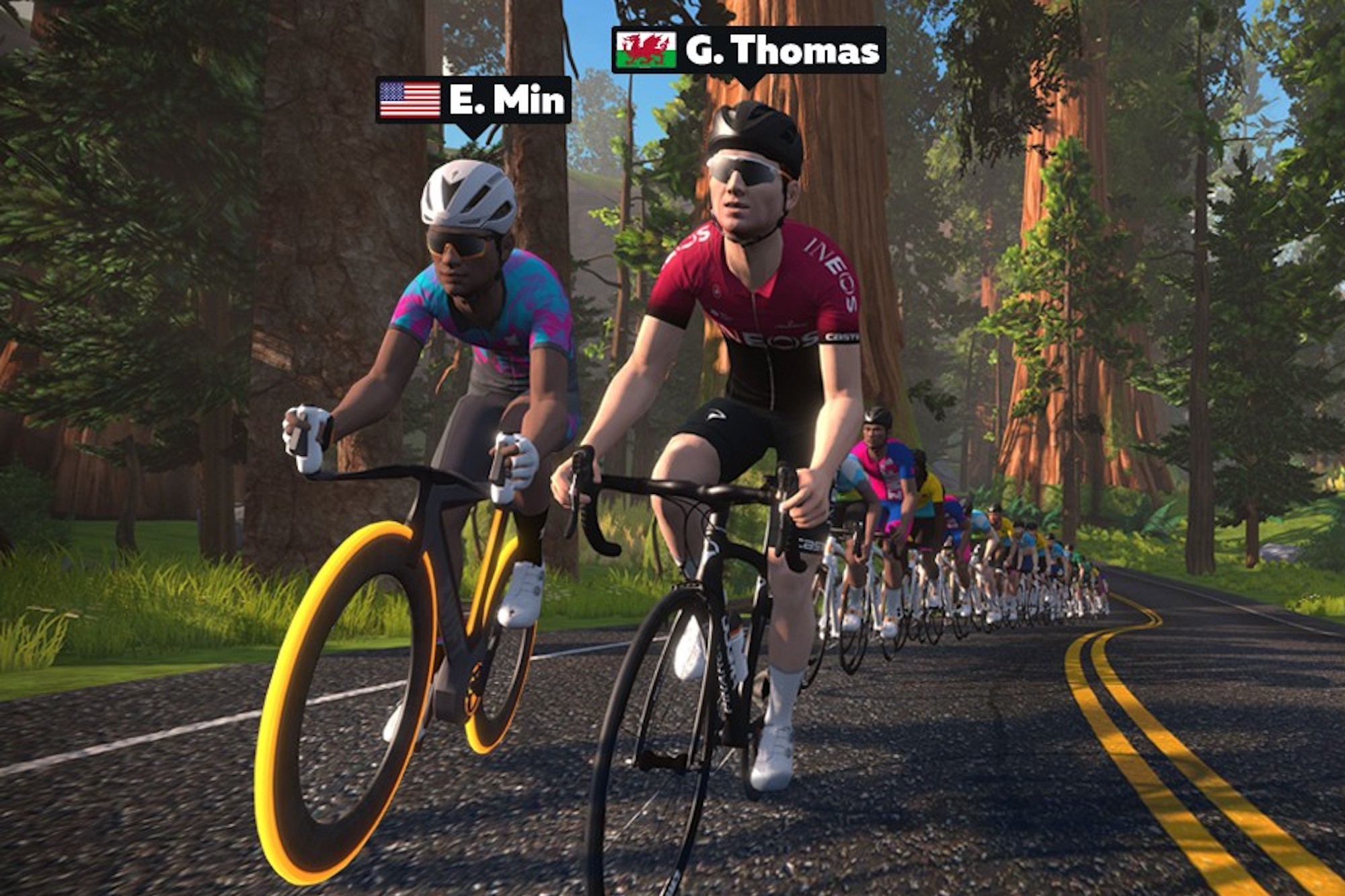 Your chance to ride with Geraint Thomas (on Zwift)
