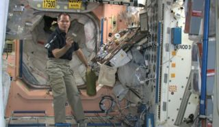 NASA Astronaut's Thanksgiving Message