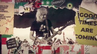 Brian May plays Beethoven's Ode to Joy