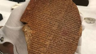 The Gilgamesh Dream Tablet was seized from Hobby Lobby by federal authorities in 2019.