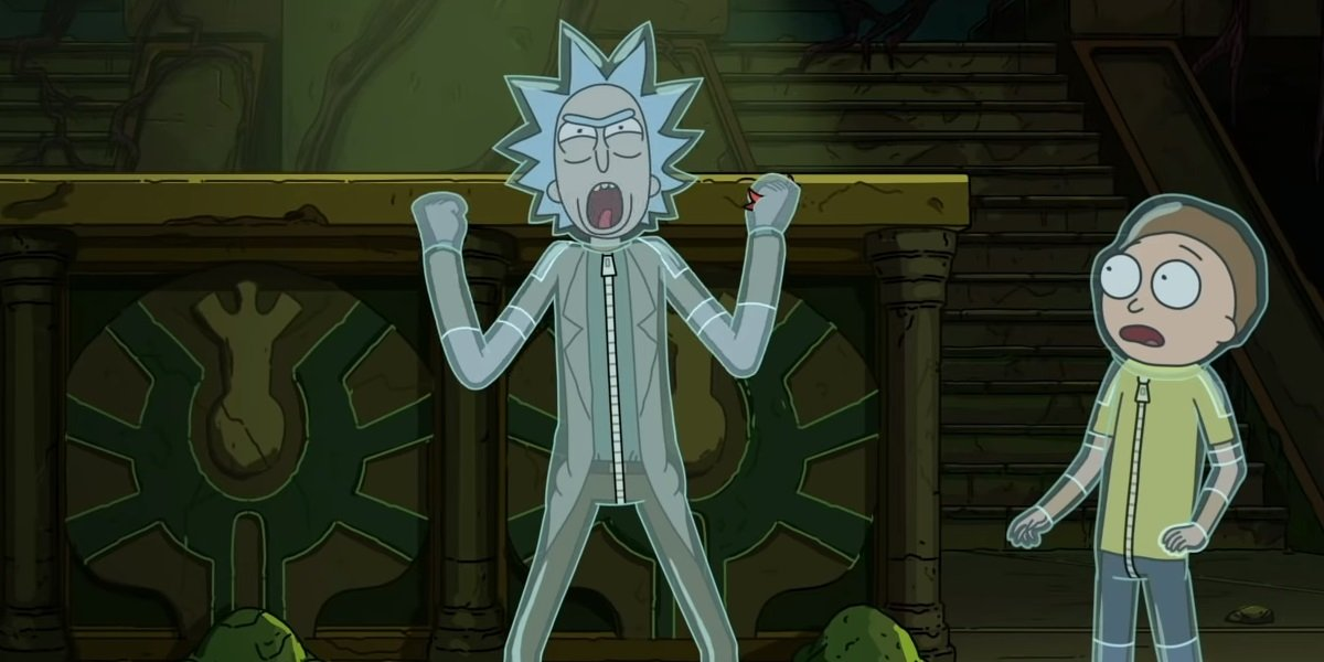 Rick and Morty in the titular series, Rick and Morty.