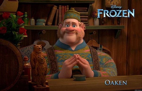 Frozen Character Poster Oaken